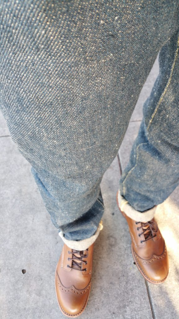 "First walk in my ONI 546ZR ""Secret Denim""!"