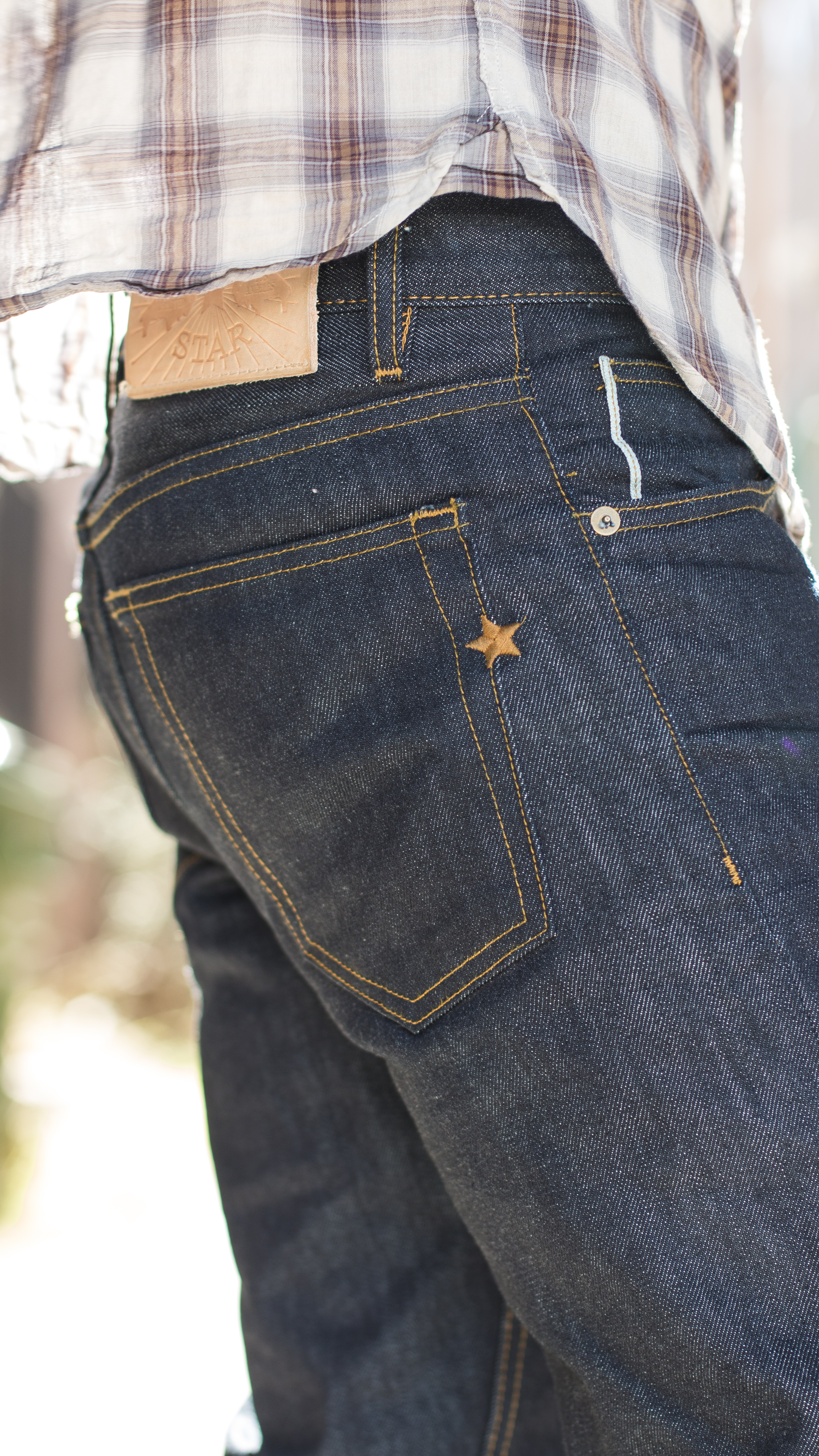 a236702e1cdd30 The perfect jeans for walking off into the sunset! Pick up a pair for $89  at Brave Star Selvedge.