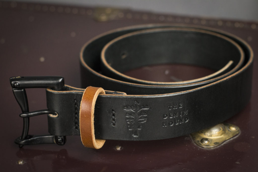 LIMITED EDITION BLACK QUICK RELEASE BELT WITH BROWN KEEPER